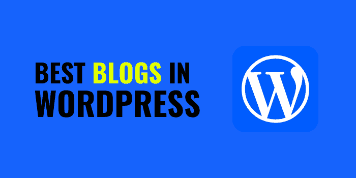 best blog in wordpress to follow