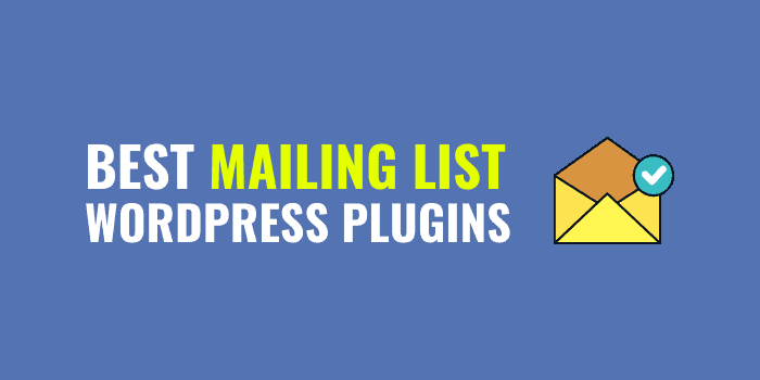 best mailing list plugins for wordpress