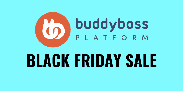 buddyboss black friday cyber monday 2020 sale