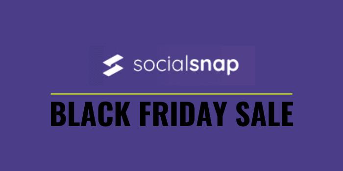 social snap black friday cyber monday 2020 sale