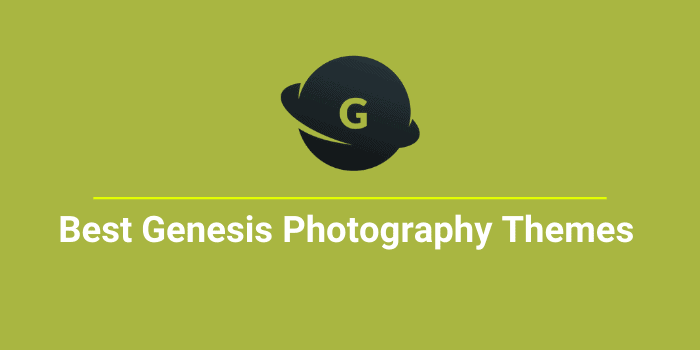 best genesis photography themes