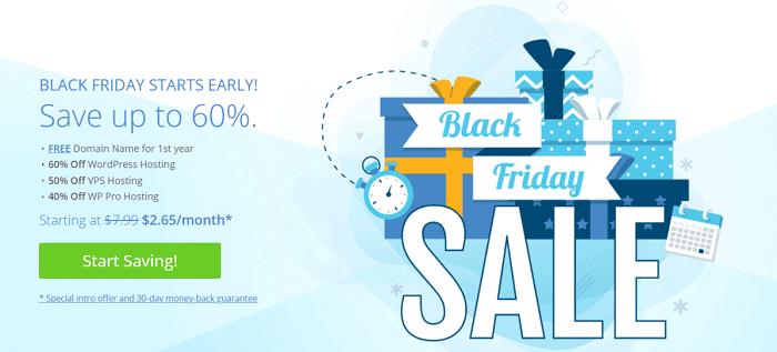 bluehost black friday sale 2020
