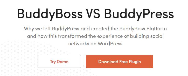 buddypress vs buddyboss