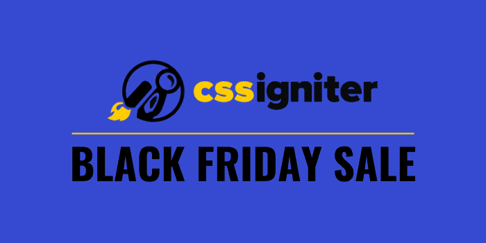 cssigniter black friday deal 2020