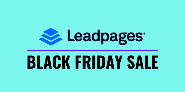 leadpages black friday deal 2020
