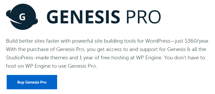 studiopress genesis pro review
