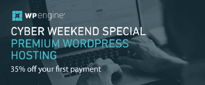 wpengine black friday sale 2020