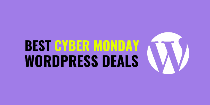 best cyber monday wordpress deals