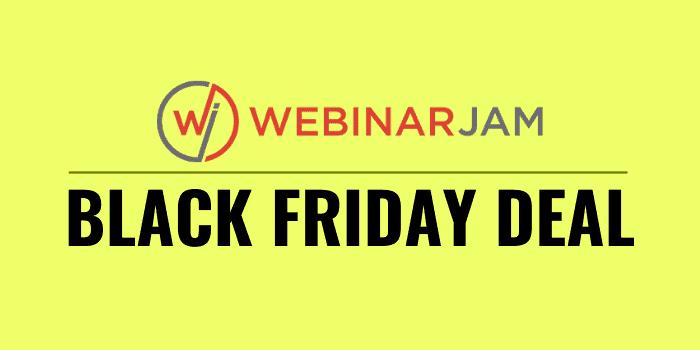 webinarjam black friday deals