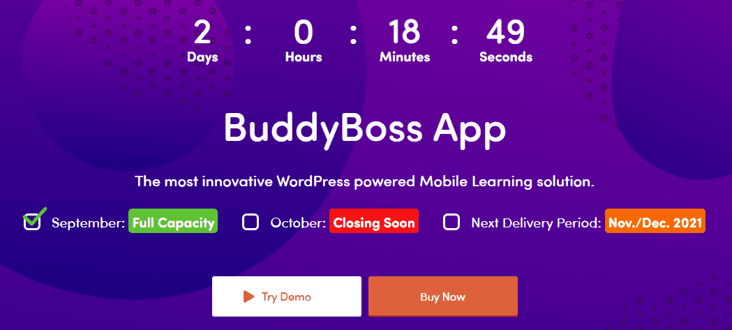buddyboss app pricing