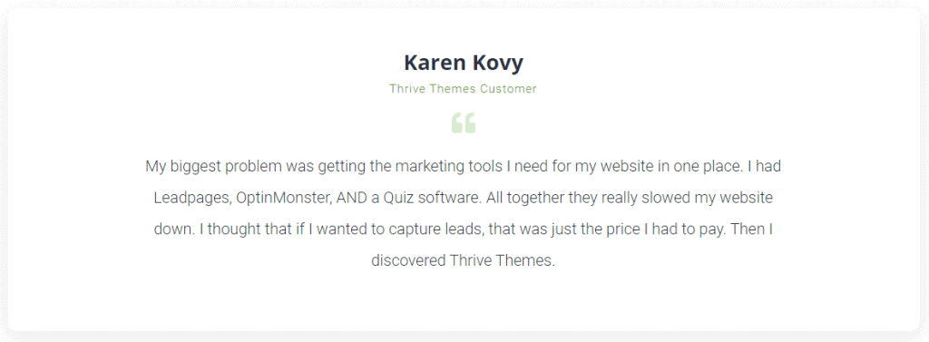 thrive suite review 2