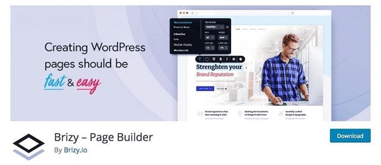 brizy builder