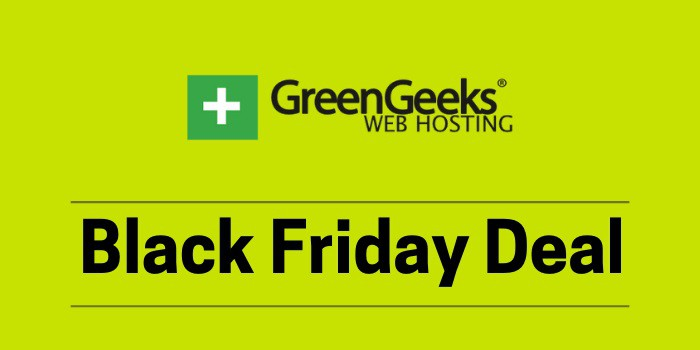 greengeeks black friday deal 2021
