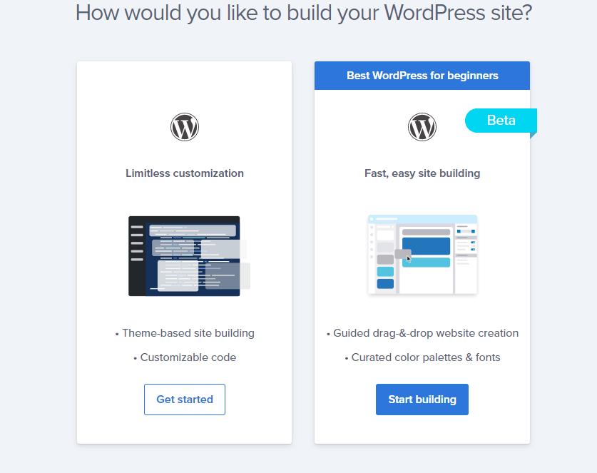 install wordpress on bluehost 2