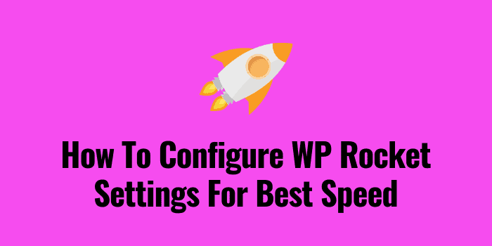 wp rocket settings