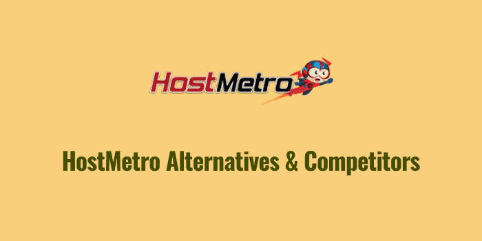 hostmetro alternatives and competitors