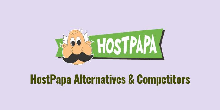 hostpapa alternatives and competitors
