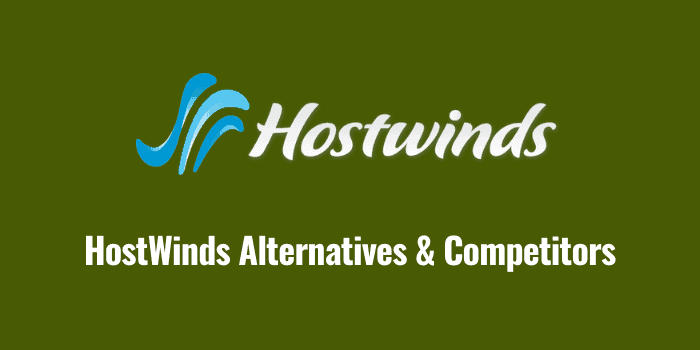 hostwinds alternatives and competitors