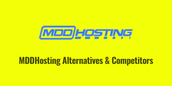 mddhosting alternatives and competitors