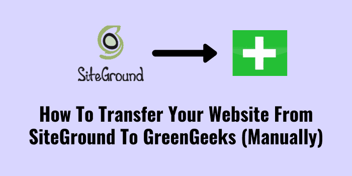migrate from siteground to greengeeks