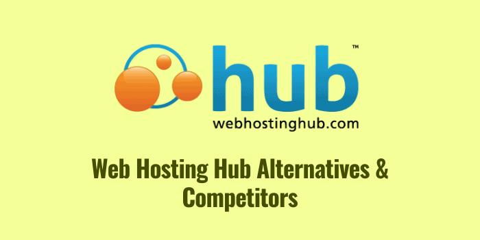 web hosting hub alternatives and competitors